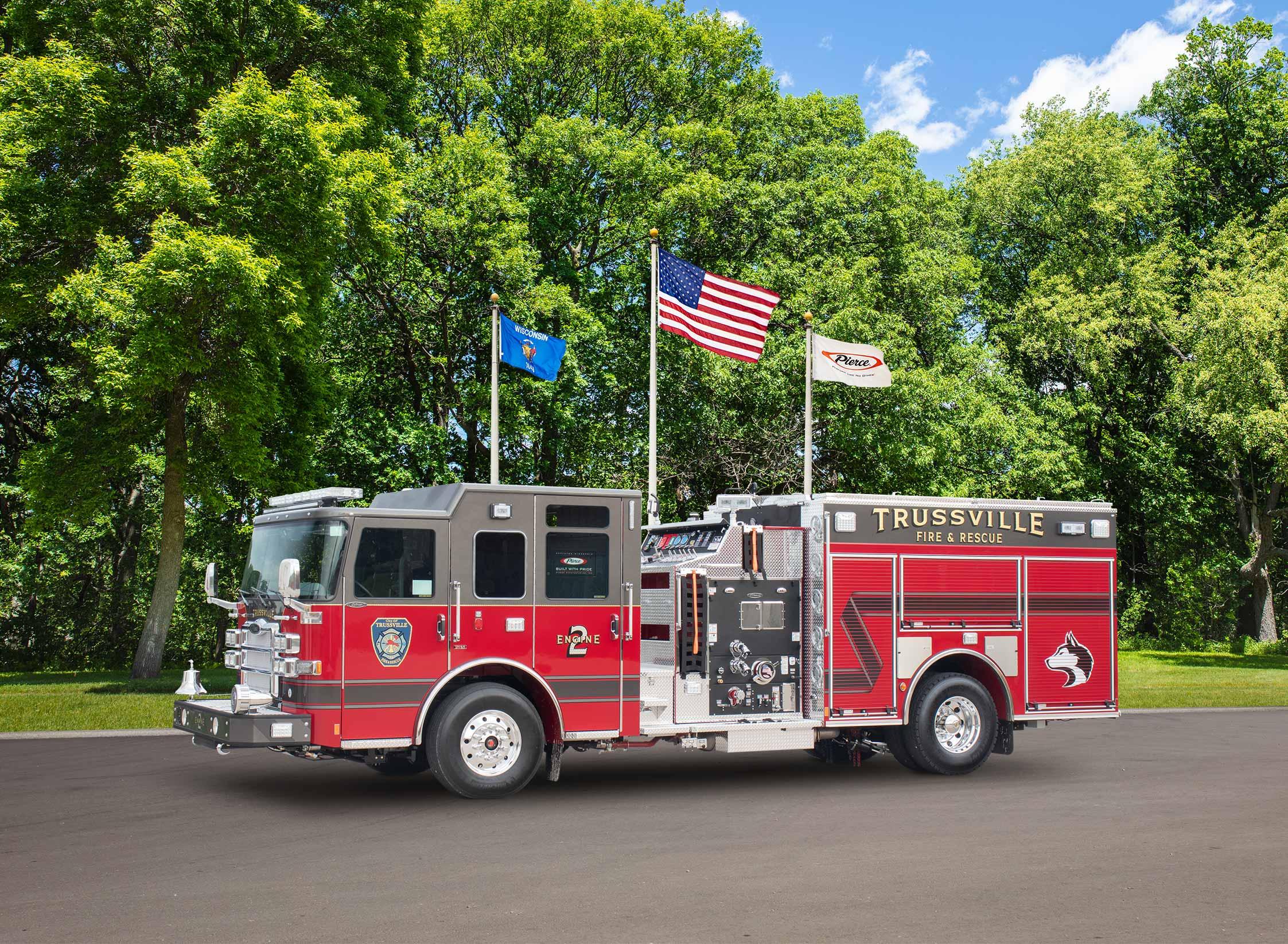 Trussville Fire & Rescue - Pumper