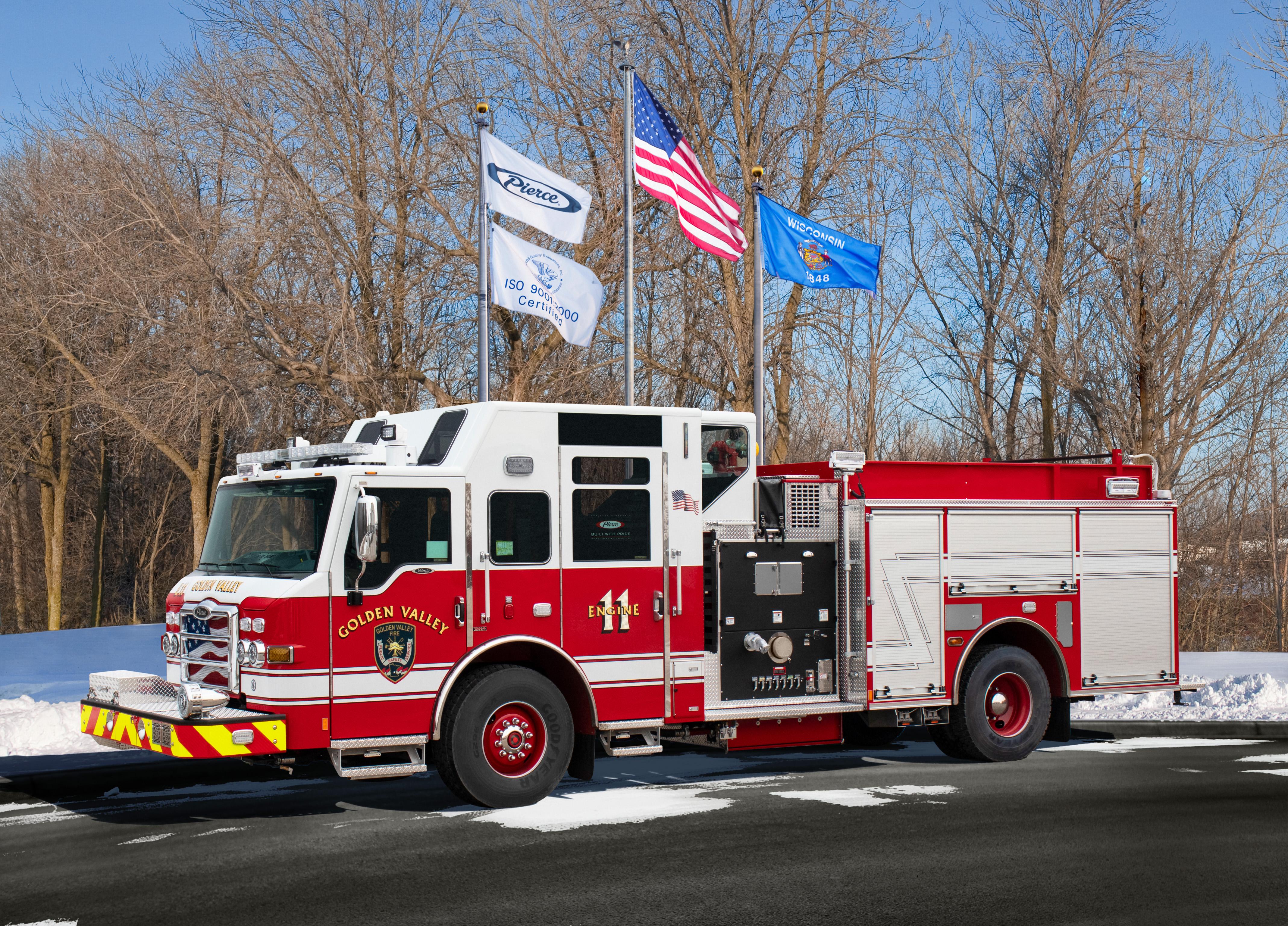Golden Valley Fire Department - Pumper