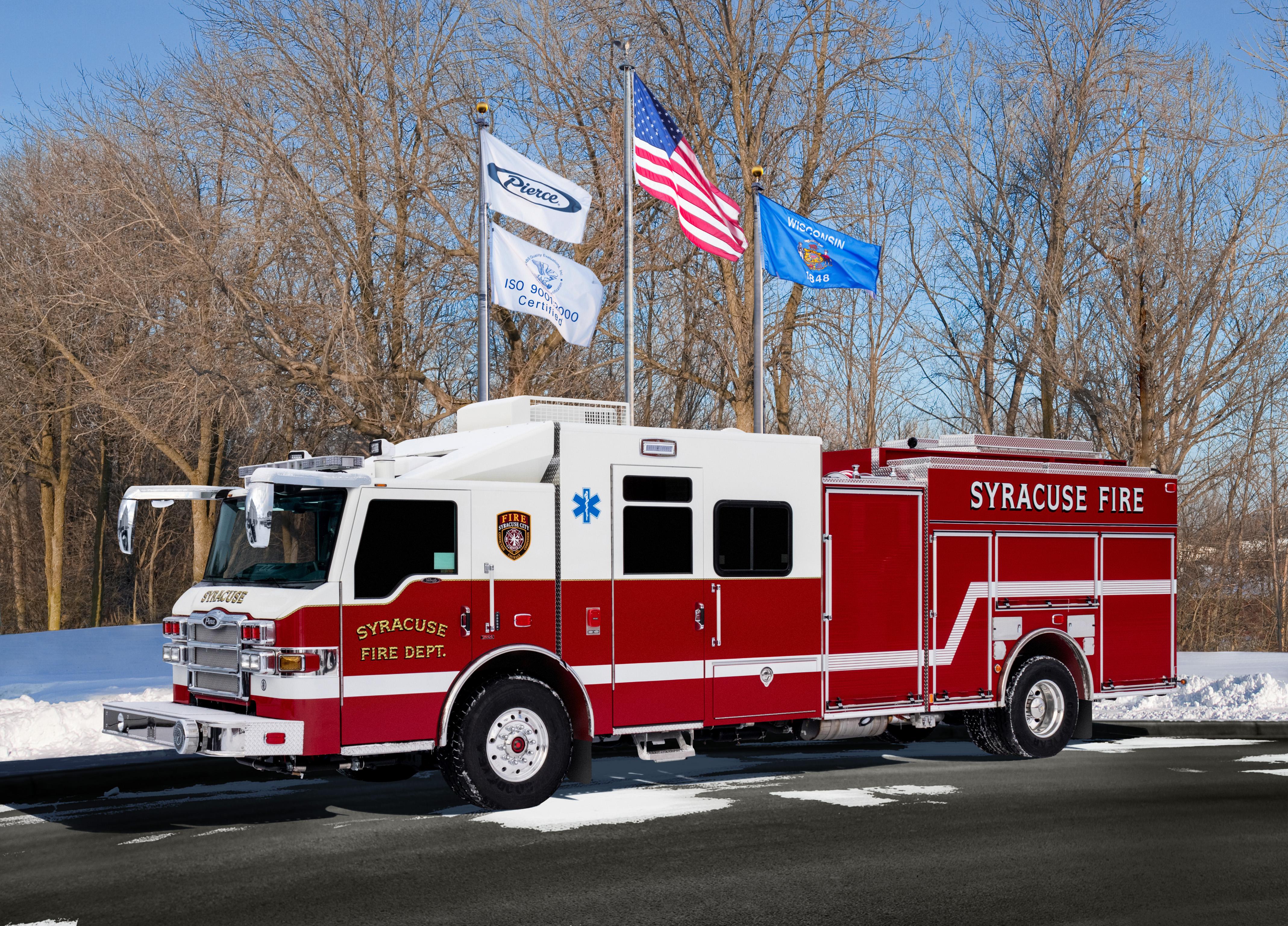 Syracuse Fire Department - Pumper