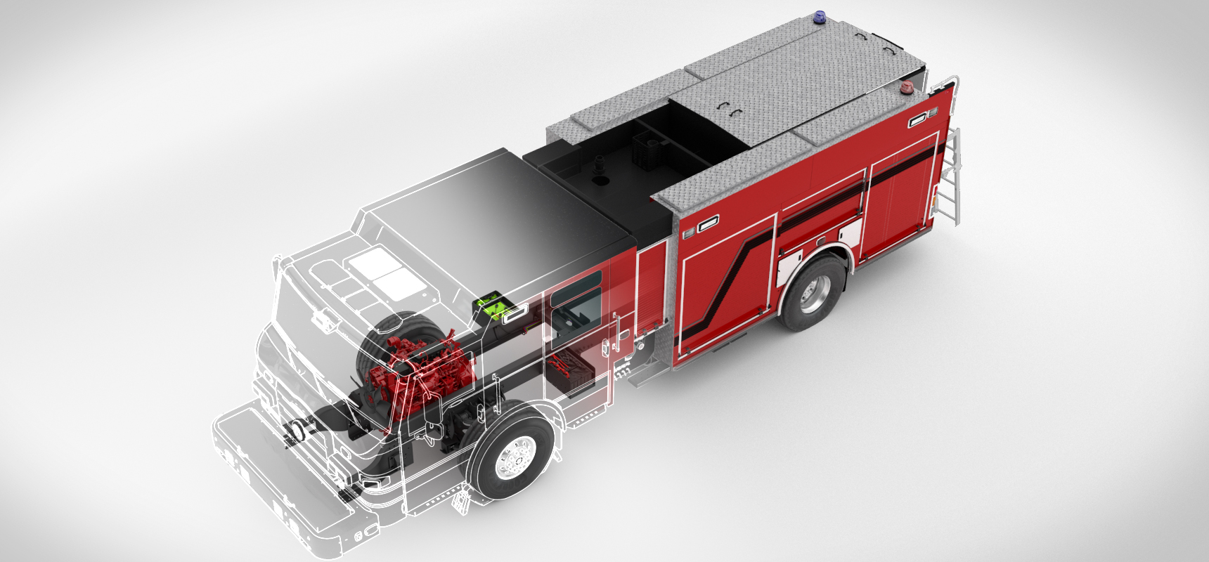Pierce Fire Truck Idle Reduction Technology