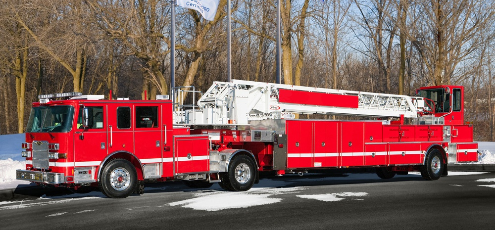 Seven Pierce Aerial Tiller Apparatus Purchased By Los