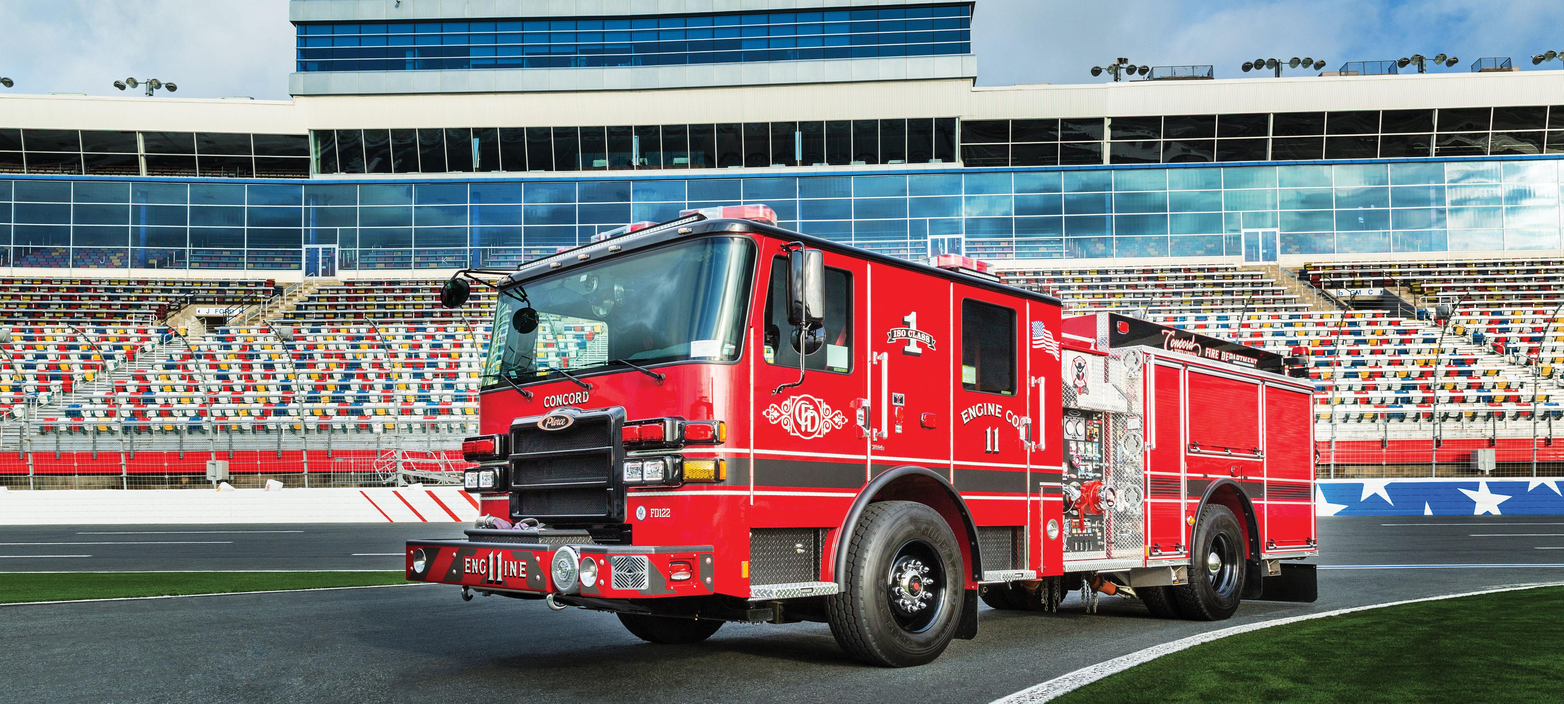 Pierce Pumper Fire Truck